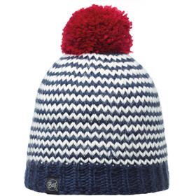 Buff Knitted & Polar Hat Navy